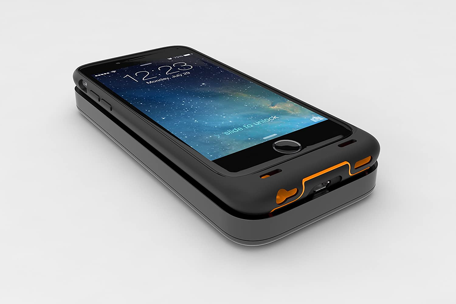Dog /& Bone Backbone Starter Pack Wireless Charging iPhone 6 Black /& Orange iPhone 6s case with Wireless Charge Pad