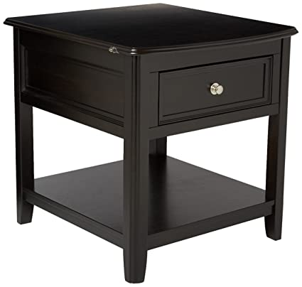 Amazing Ashley Furniture Signature Design   Carlyle End Table   Rectangular With 1  Drawer And 1 Shelf