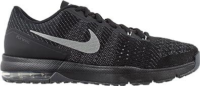b4c029e3bff01 Men's Nike Air Max Typha Training Shoe (Black/Metallic Silver, 7.5)