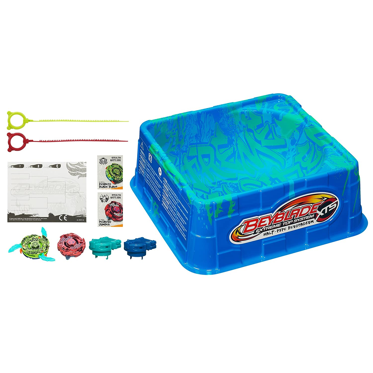 BEYBLADE XTS Half Pipe Battle Set 38441