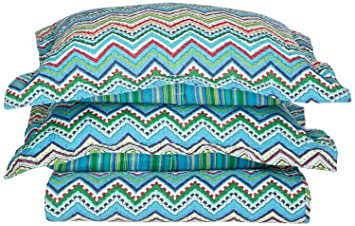 King Size NEWLAKE Striped Classical Cotton 3-Piece Patchwork Bedspread Quilt Sets