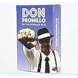 Don Promillo – Das Trink-Kartenspiel - Perfekt zum Vortrinken, Jungesellenabschied oder für den Männerabend - Trinkspiel - Saufspiel - Partyspiel