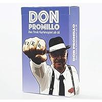 Town Rocket Games Don Promillo – Das Trink-Kartenspiel - Perfekt zum Vortrinken, Jungesellenabschied oder für den Männerabend - Trinkspiel - Saufspiel - Partyspiel