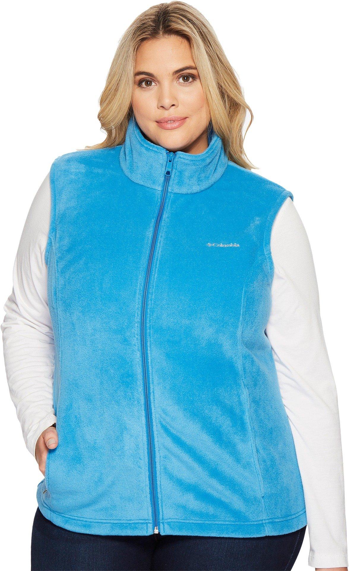Columbia Women's Plus Size Benton Springs Vest, Dark Cyan, 2X