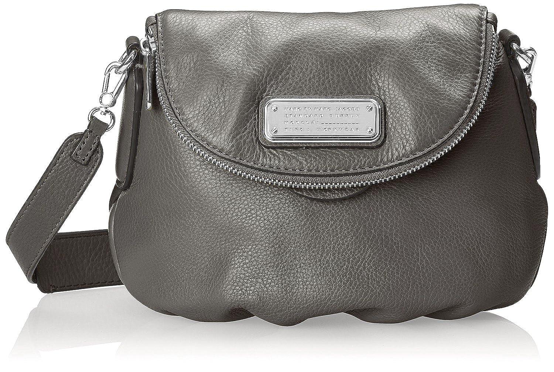 63839b3ed165 Amazon.com  Marc by Marc Jacobs New Q Mini Natasha Cross-Body Bag (Faded  Aluminum Silver)  Shoes