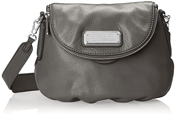 4cd280a56402 Marc by Marc Jacobs New Q Mini Natasha Cross-Body Bag (Faded Aluminum/