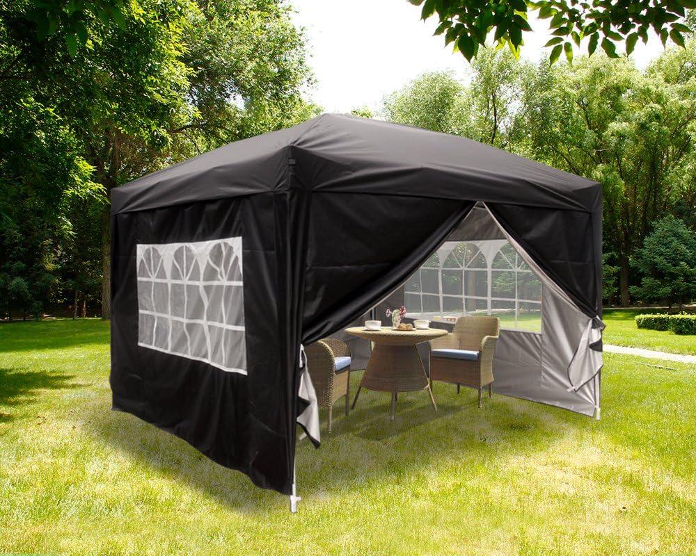 Folding Gazebo Waterproof Gazebo Garden Tent dachmaß Party Tent Gazebo 3x3m NEW