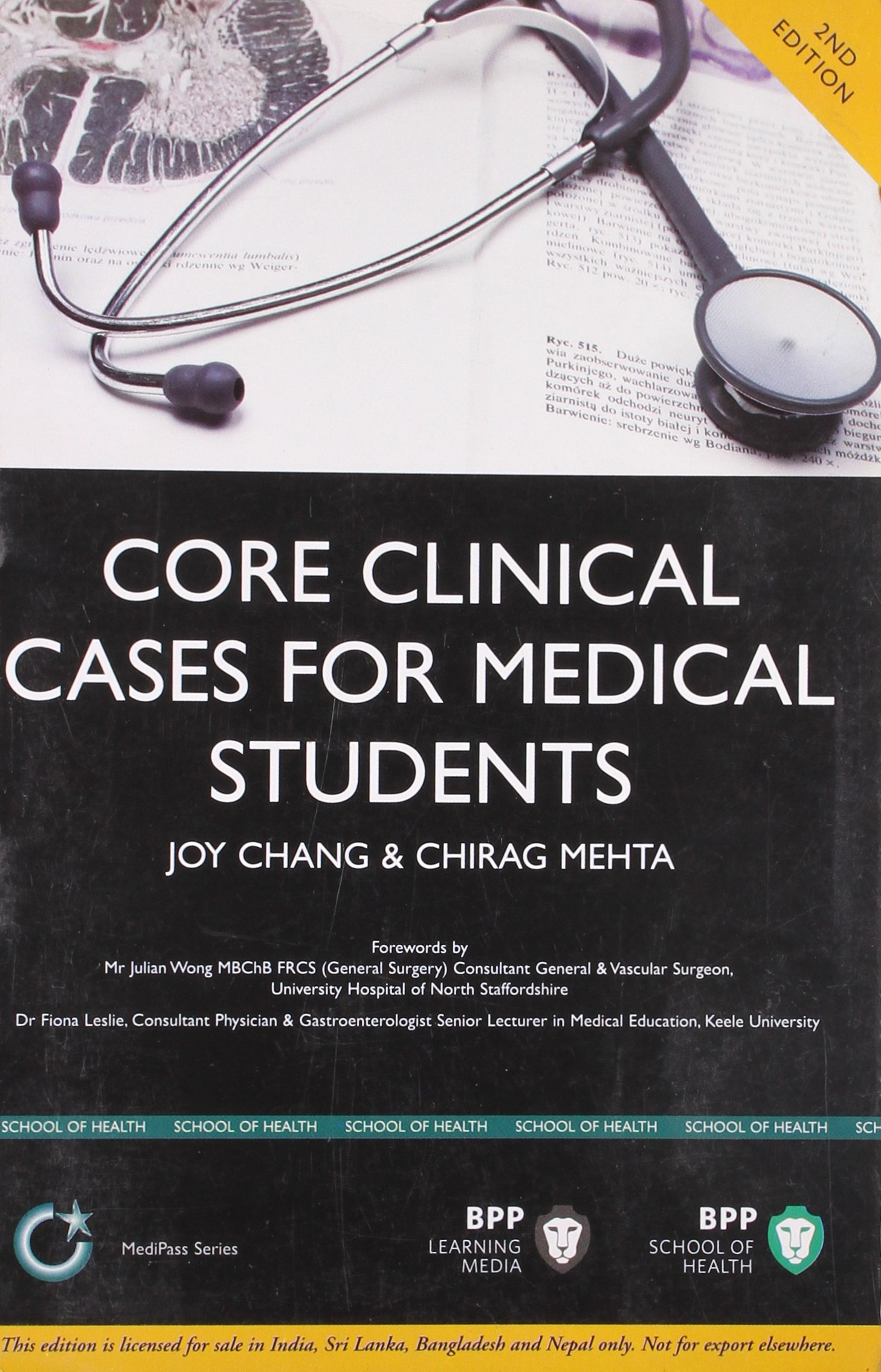 Download Core Clinical Cases for Medical Students pdf