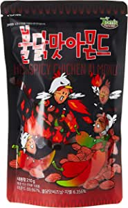 Tom's Farm Hot Chicken Flavored Almond, 210g