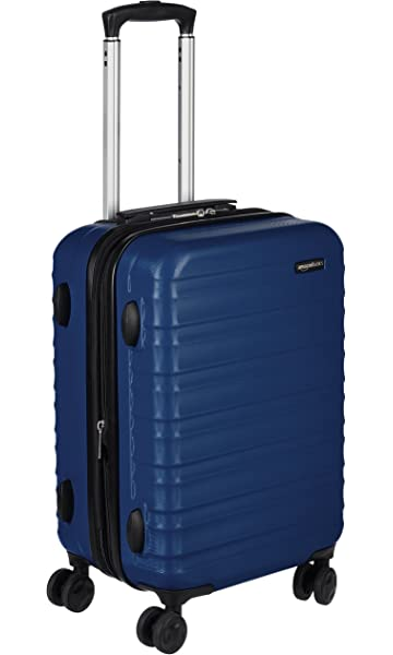 Image result for AmazonBasics Hardside Spinner Luggage - 20-Inch, Carry-On