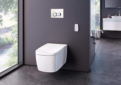 Inodoro Vitra V-Care Basic de montaje en pared con Taharet/Bidet Aqua Clean: Amazon.es: Bricolaje y herramientas