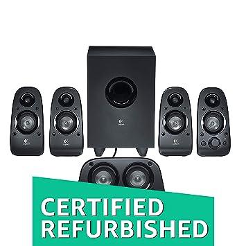 dbeffc28608 (Renewed) Logitech Z506 5.1 Channel Surround Sound Multimedia Speakers  (Black)
