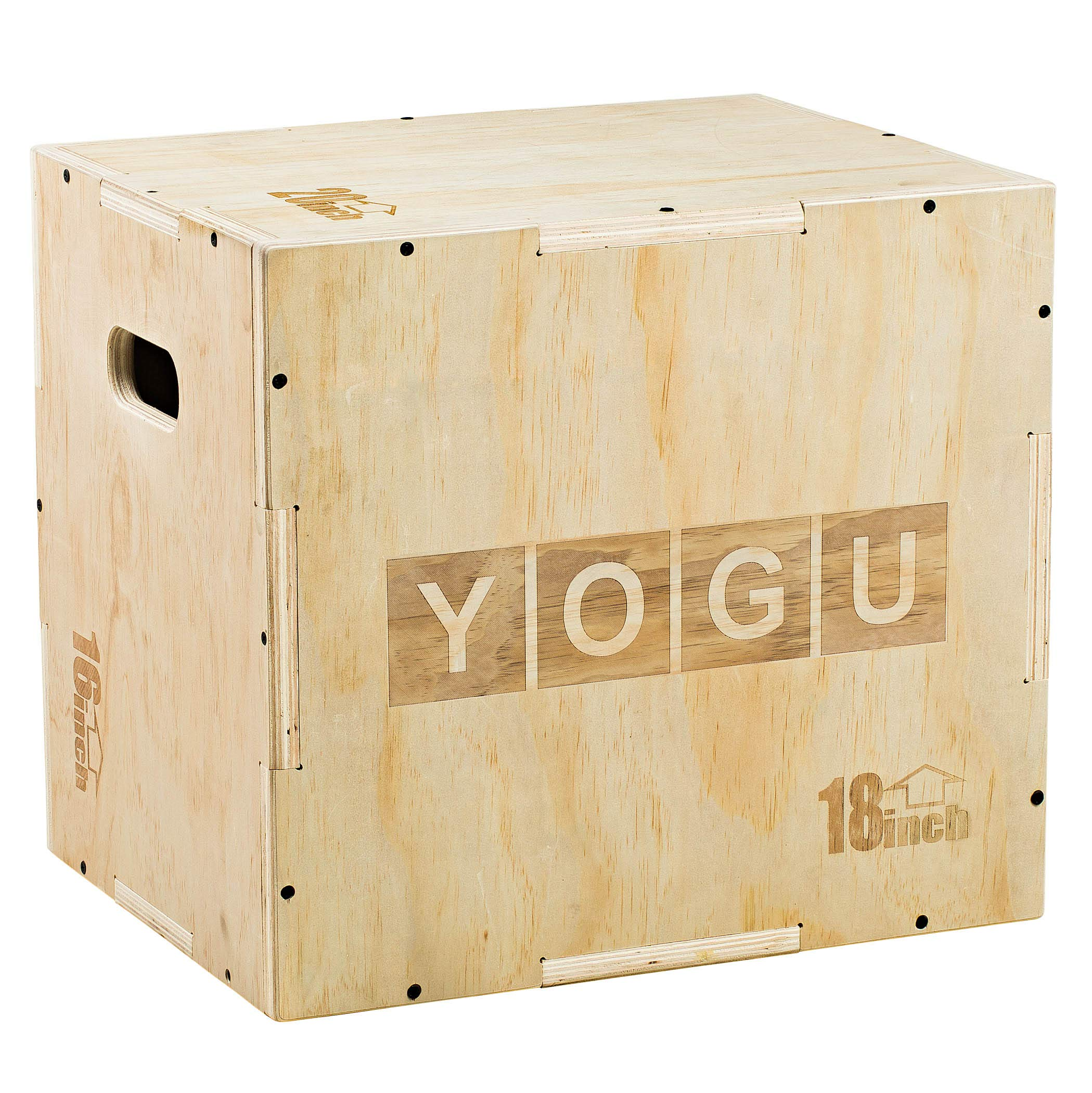 YOGU 3 in 1 Wood Plyometric Box (20/18/16)