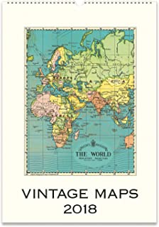 Antique Maps Wall Calendar British Library - Where to buy antique maps