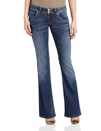 9fc7a5c69bf Amazon.com: Hudson Jeans Women's Signature Boot Jean in Hackney ...