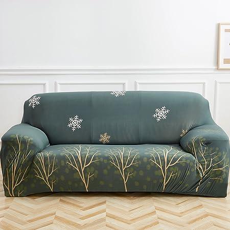 TEERFU - Funda elástica para sofá o sofá, Flower 18, Loveseat ...