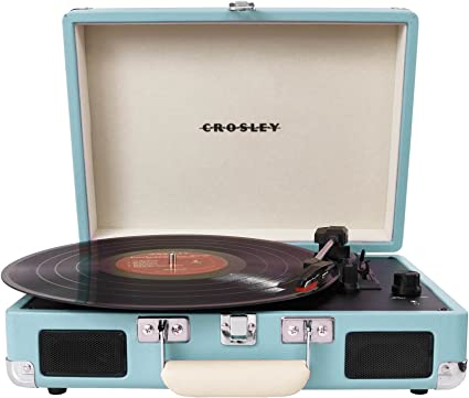 portable record player with speakers