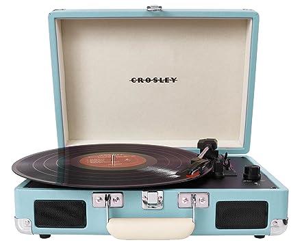 Amazon.com: Crosley CR8005A-TU Cruiser Portable 3-Sd Turntable ... on