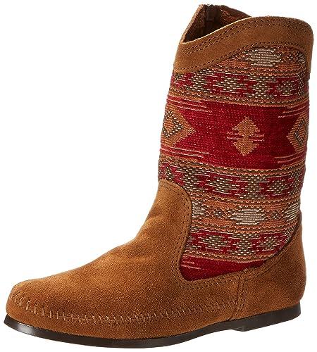 Minnetonka Damen Baja Boot Mokassin Stiefel, Braun (Dusty Brown), 36 EU c3a6fccf45