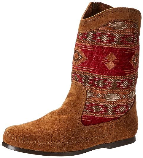 Minnetonka Baja Boot, Botas Mocasin para Mujer: Amazon.es: Zapatos y complementos