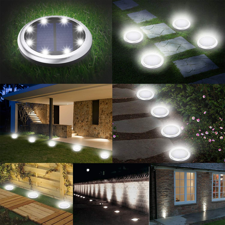 Amazon.com: pys al aire libre de energía solar luces de ...