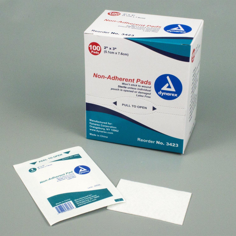 Non-Adhering Gauze Pads 2
