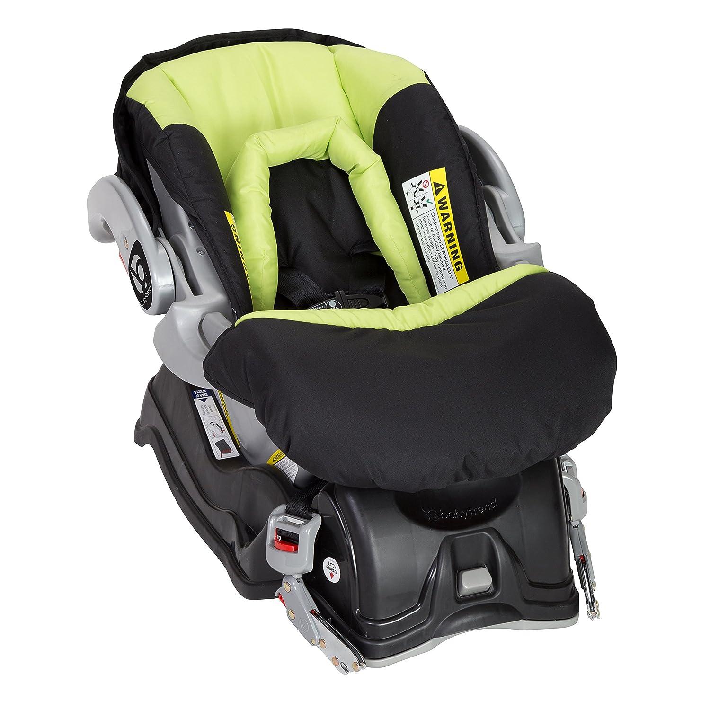 Spring Green Baby Trend EZ Flec Loc Infant Car Seat
