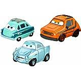 Cars 2 - Cars Micro Drifters Pack De 3, pack 4 (Mattel W7164)