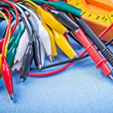 10 Pieces Test Leads with Alligator Clips Set