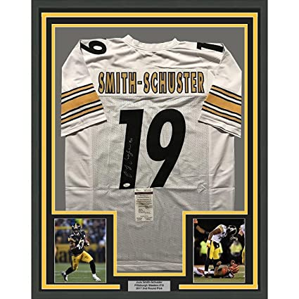 reputable site e769f c5849 JuJu Smith Schuster Pittsburgh Steelers Signed Autograph ...