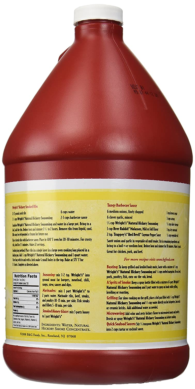 Amazon.com : Wright\'s® Liquid Smoke, Hickory, 1 gal. : Barbecue ...