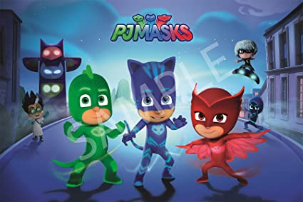 Best Print Store - PJ MASKs, Its Time To Be A Hero, Poster (