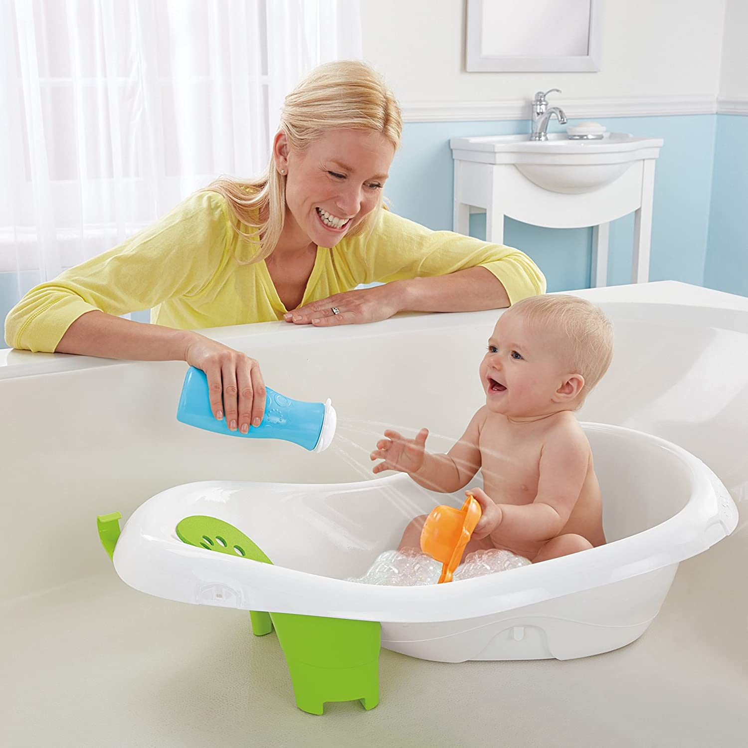 Amazon.com: Fisher-Price 4-in-1 Sling n Seat Tub: Baby