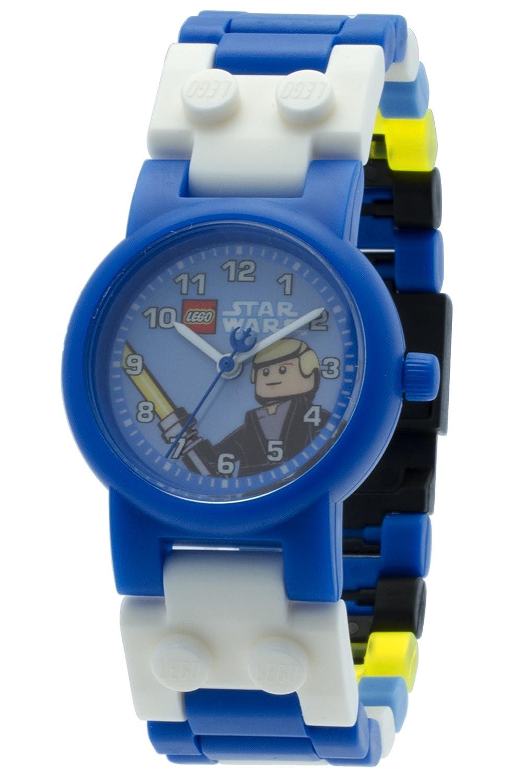 Lego Star Wars 8020356 Luke Skywalker Kinder Armbanduhr Mit Yoda Kids Buildable Watch 8021032 Minifigur Und Gliederarmband Zum Zusammenbauen Blau Wei Kunststoff Gehusedurchmesser 25