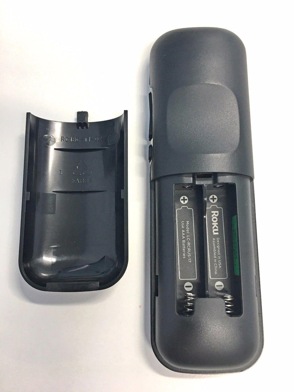Sharp LC-RCRUS-17 Roku TV Remote Control