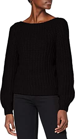 Ivy Revel DE Low Back Rib Knit suéter para Mujer
