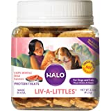 Halo Liv-A-Littles Grain Free Freeze Dried Natural Dog & Cat Treats