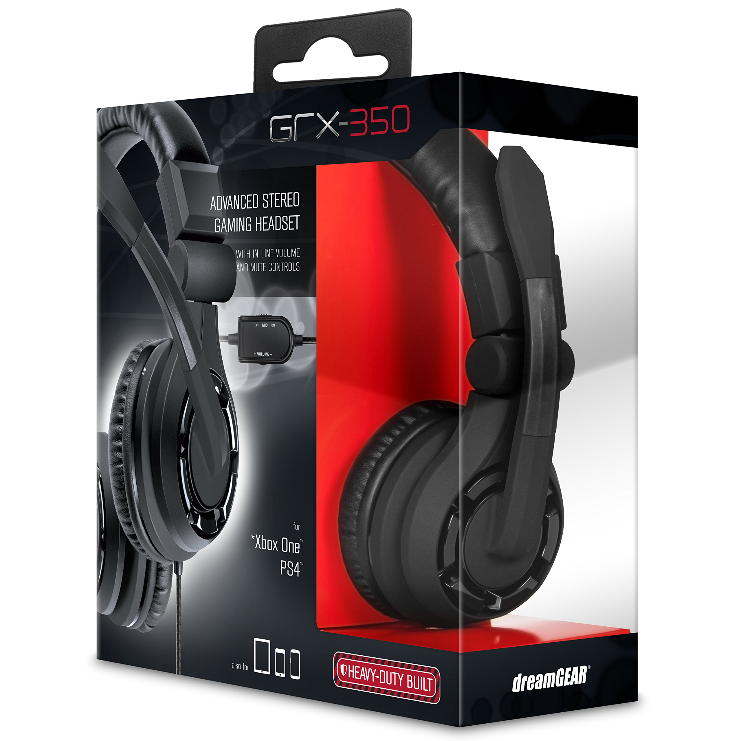 dreamGEAR GRX-350 Advanced Wired Stereo Gaming Headset -...