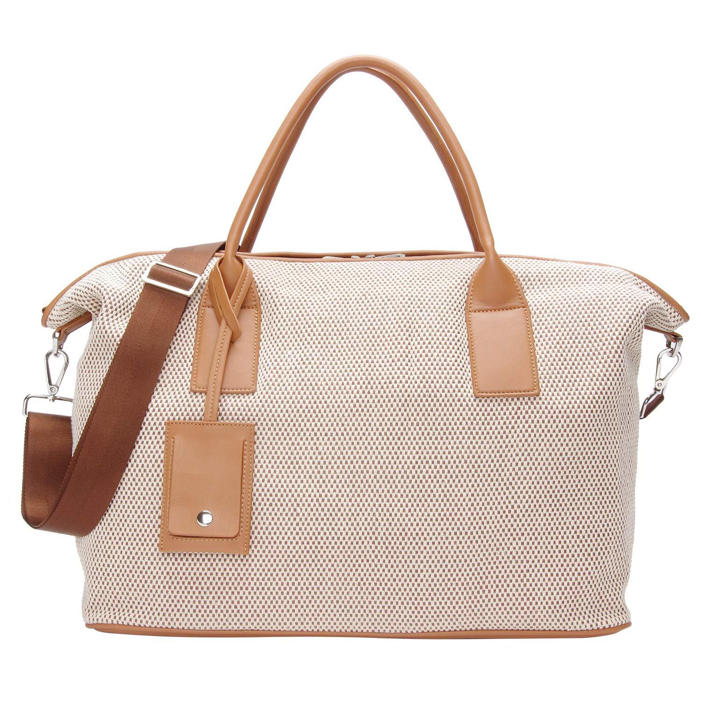 35bd814e2 Amazon.com: PACO TORA Top Handle Woven Tote Bag Beach Handbags Travel  Shoulder Bags Large Capacity Crossbody Bag: PACO TORA US