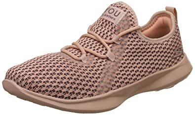 4Chaussures Rose Uk Skechers Femmes You Basket Serene HDW2IE9