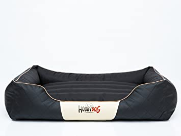 Cama para perros Cesar estándar XXL (R4) 114 x 84 cm Negro, piel sintética, Kodura: Amazon.es: Productos para mascotas