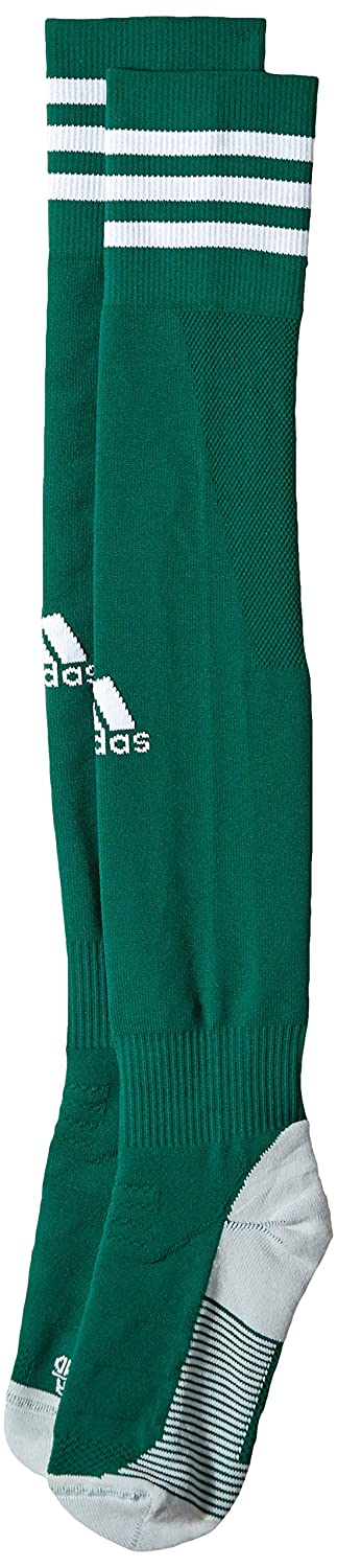 adidas Unisex adisock 18 Team Socks, Collegiate Green/White, M DJ2562