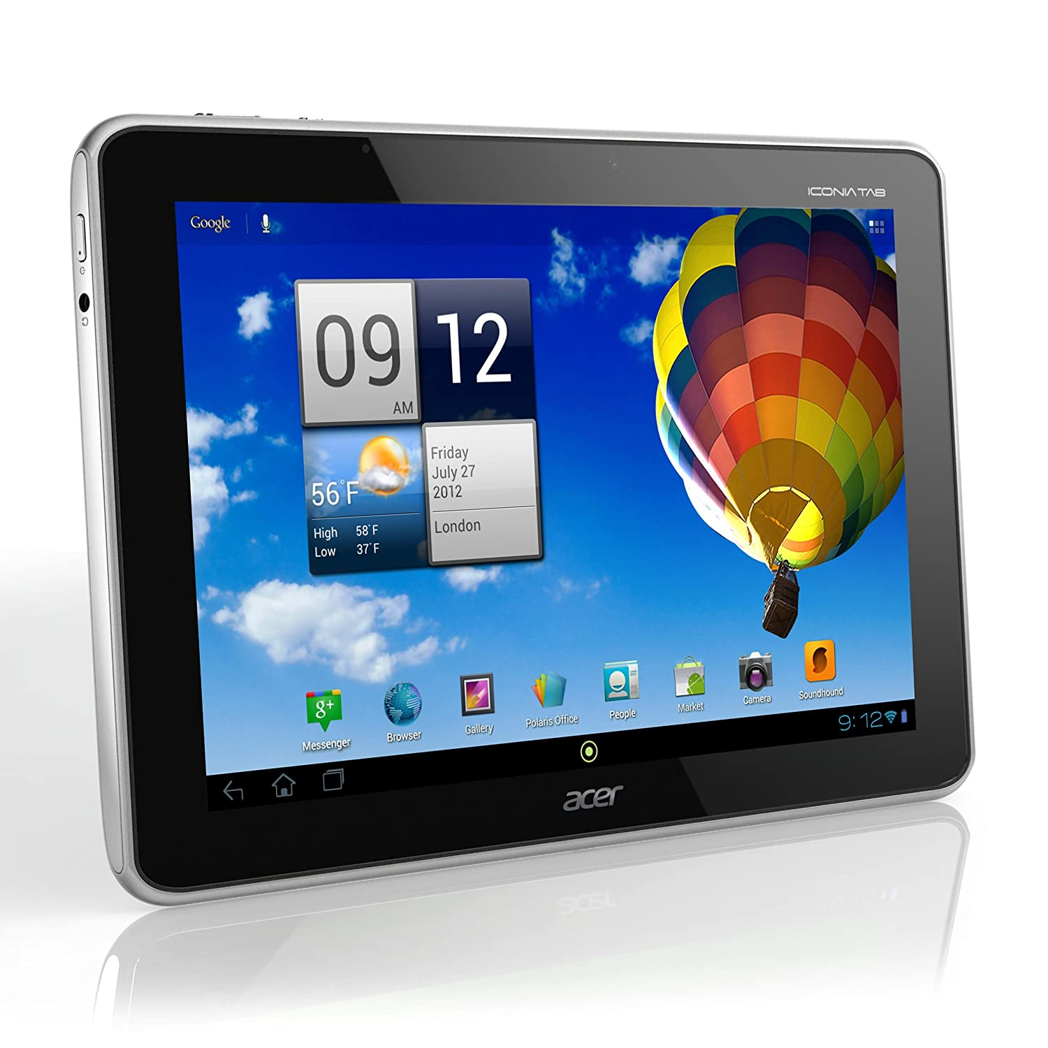 Acer Iconia A510 10.1 inch Olympic Edition Tablet (Nvidia Tegra 3 1.3GHz,  1GB