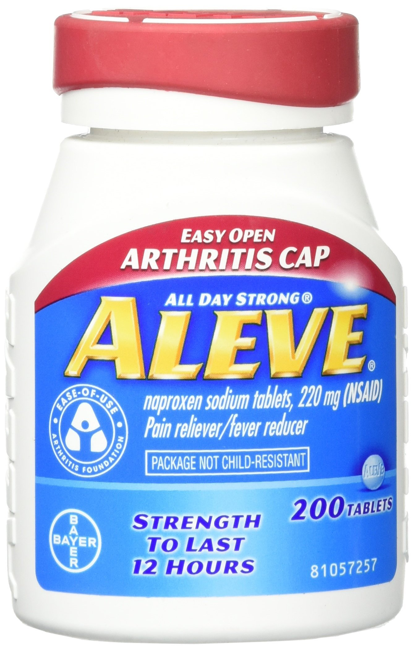 Aleve Easy Open Arthritis Tablets 200 Count