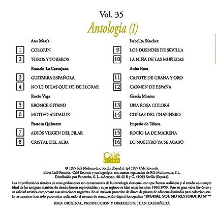 Raices de la Cancion Española Vol. 35: Amazon.es: Música