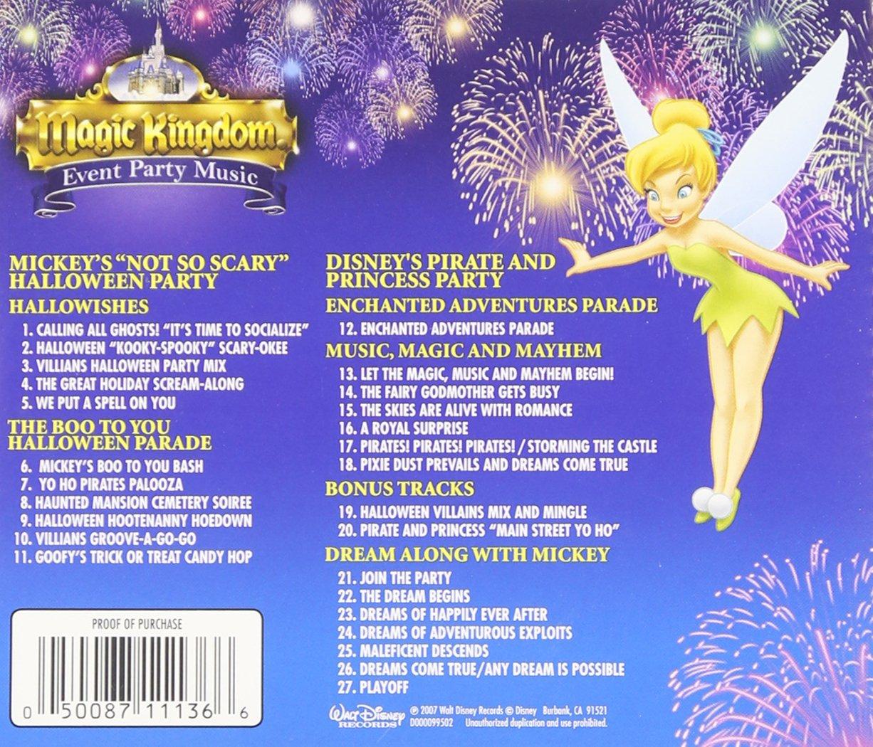 Disney, Various - Disney Magic Kingdom Event Party Music CD ...