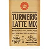 Nature's Harvest Turmeric Latte Mix - Organic Golden Milk Powder with Curcumin, Healthy Herb Blend for Coffee, Tea, Smoothies - 35 Servings