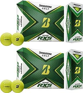 product image for Bridgestone Golf 2020 Tour B RXS Reactive Distance Golf Balls, Yellow (2 Dozen)