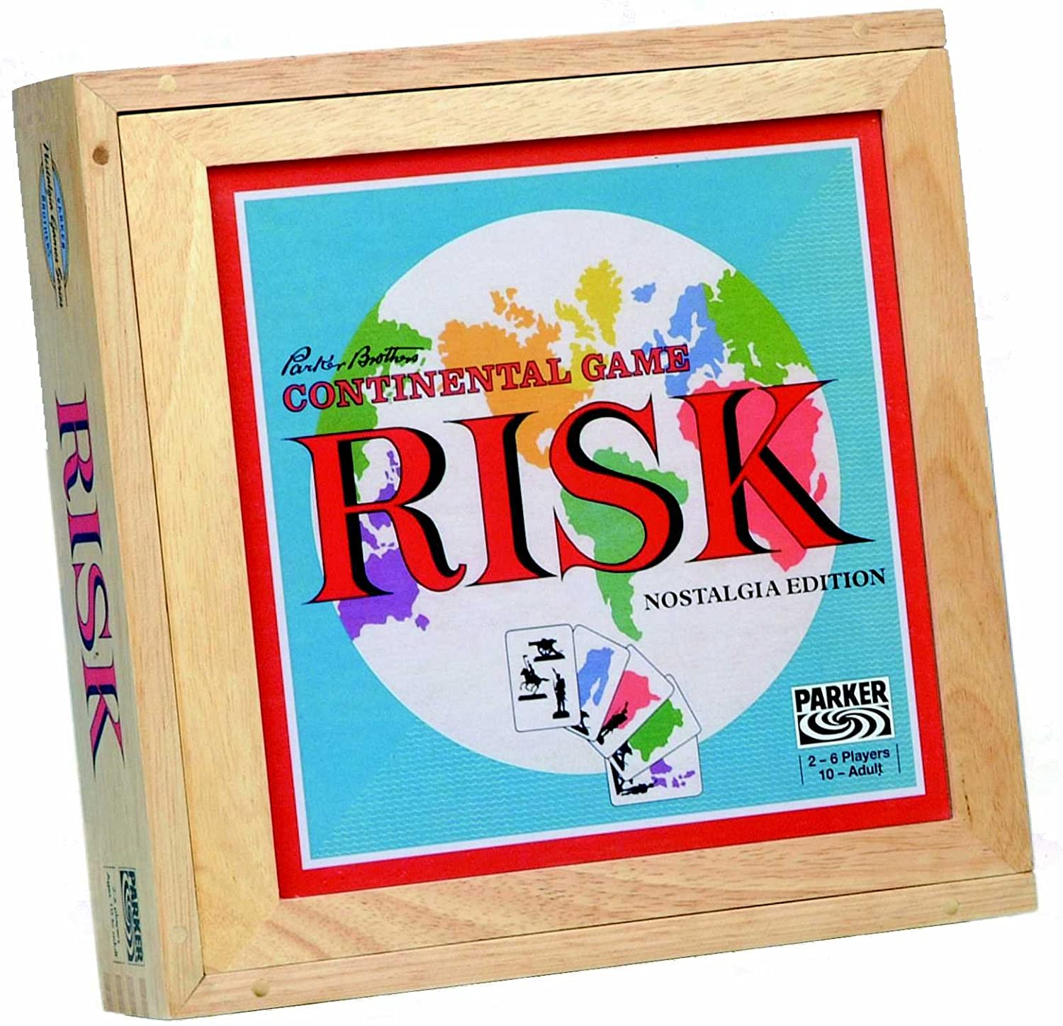 Risk Nostalgia Wooden Edition by Risk: Amazon.es: Juguetes y juegos