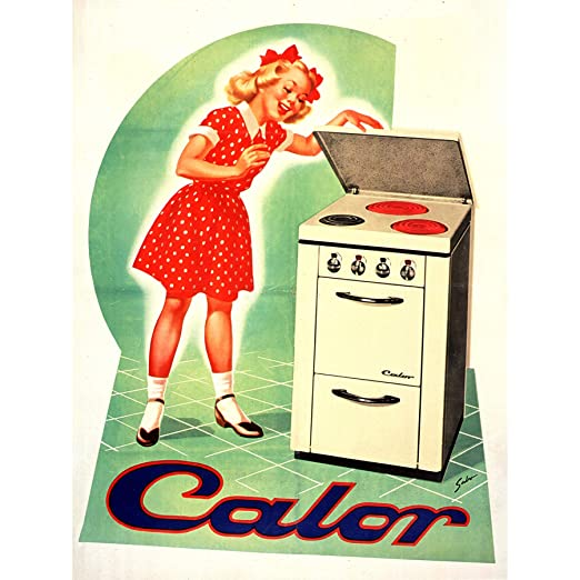 Sabo Calor Electric Oven Cooker Stove Advert Extra Large XL ...